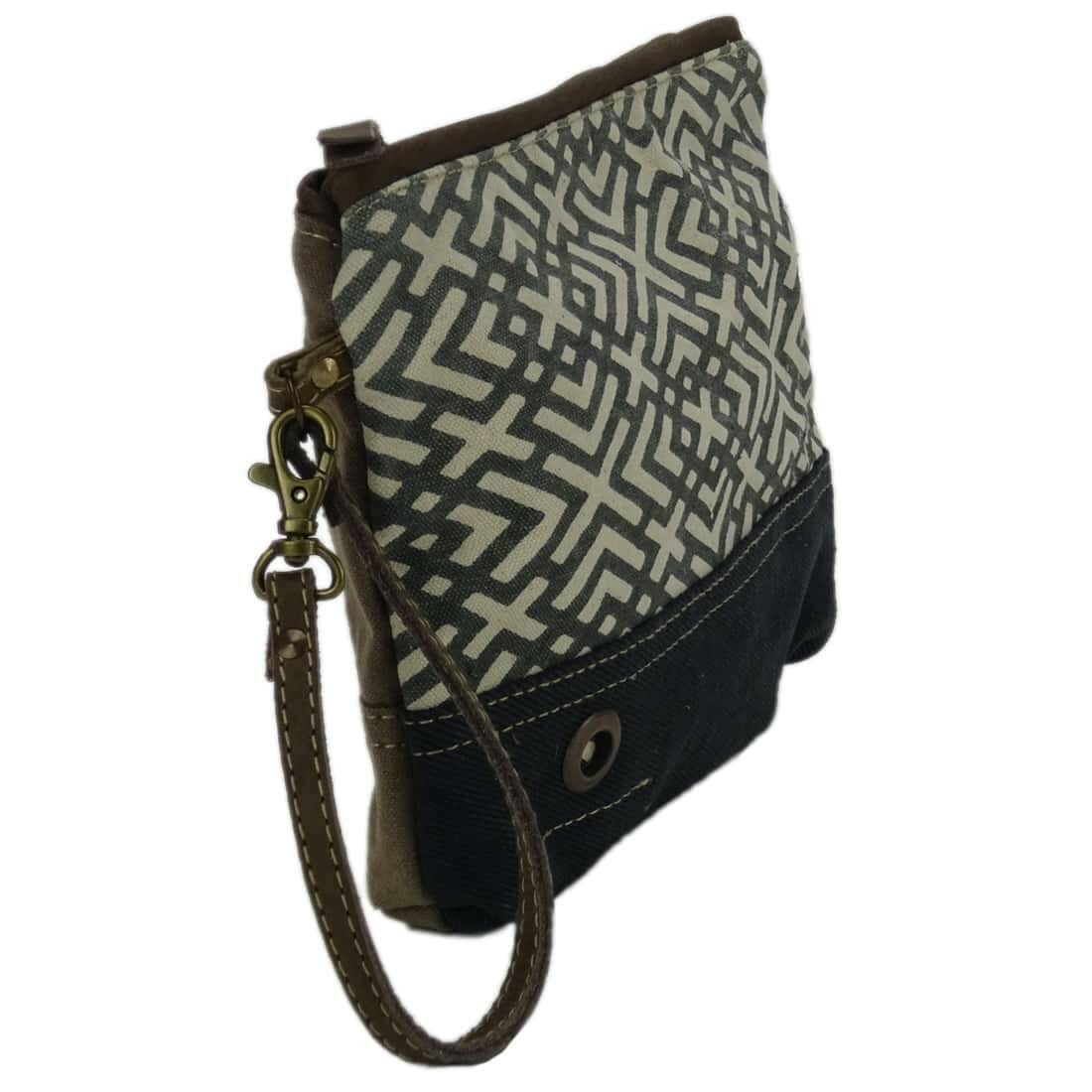 Myra Bag Clutch Oceane linker zijkant