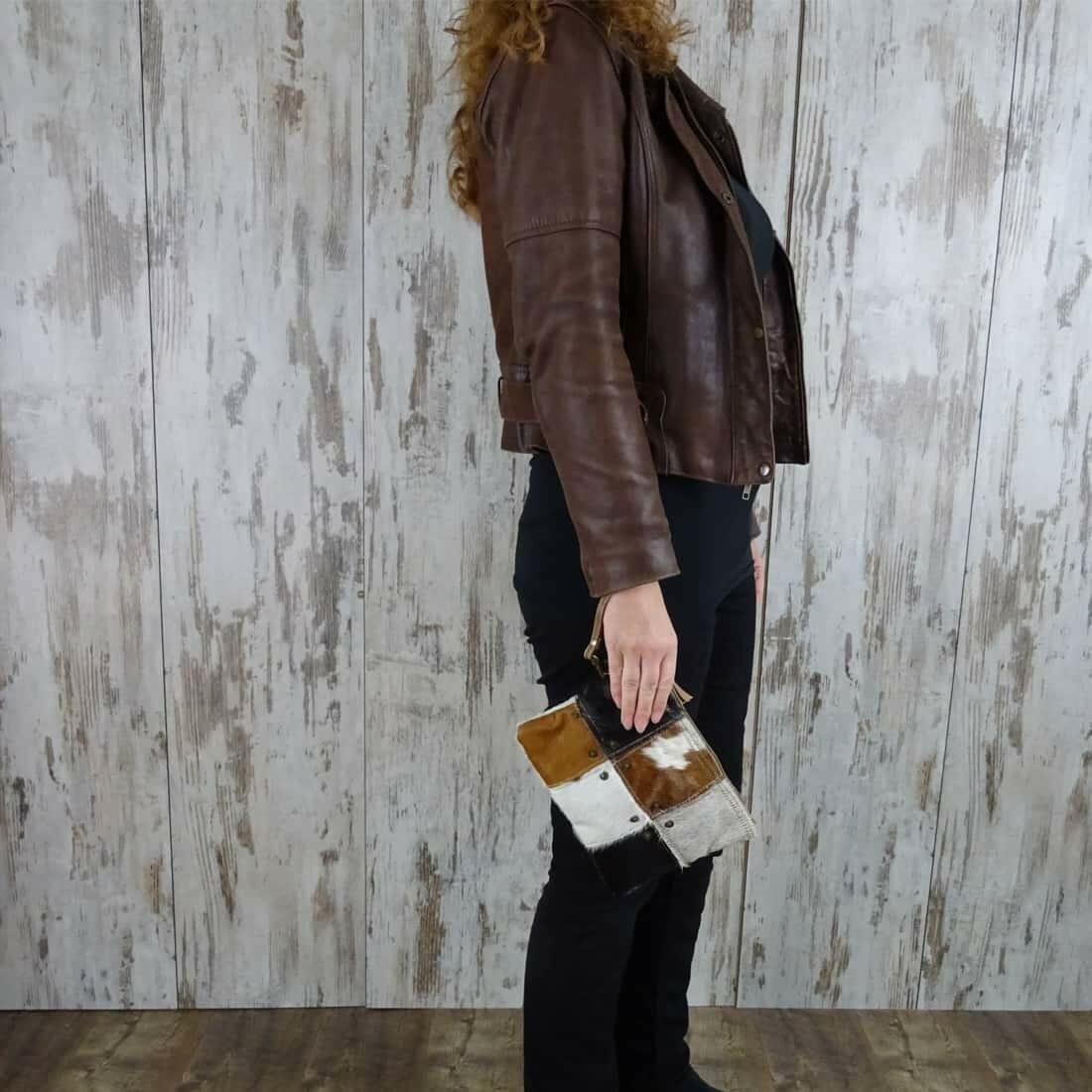 Myra Bag Clutch-Fanetta persoon1